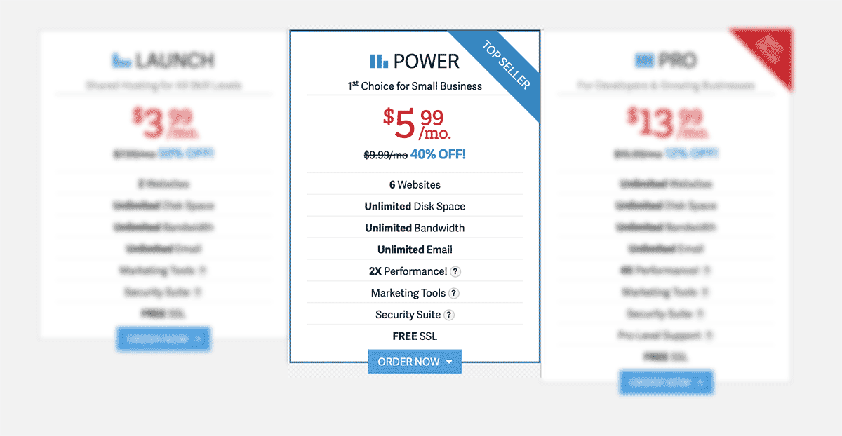 Inmotion Hosting Power Plan